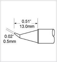 Conical Tip  Bent  0 5mm  0 02  STV CNB05
