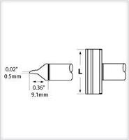 Blade Tip  40mm  1 575  CCV BL400