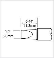 Chisel Tip  Extra Large  5mm  0 197  SCV CH50A