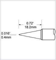 Conical Tip  0 5mm  0 02  SFV CN05A