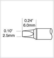 Cartridge  Chisel  Power  2 5mm  0 098  STTC 836P