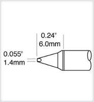 Cartridge  Chisel  Power  1 5mm  0 059  STTC 838P
