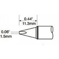 Chisel Tip  1 5mm  0 059  STV CH15A
