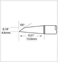 Hoof Tip  Drag  4mm  0 157  STV DRH40CP