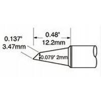 Hoof Tip  Drag  2mm  0 079  STV DRH420A