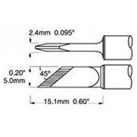 Knife Tip  4 5mm  0 177  STV DRK45A