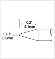Ultrafine Cartridge  Conical  0 2mm UFTC 7CN02