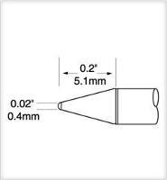 Ultrafine Cartridge  Conical  0 4mm UFTC 7CN04