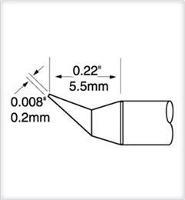 Ultrafine Cartridge  Conical Bent  0 2mm UFTC 7CNB02