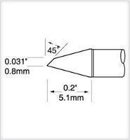 Ultrafine Cartridge  Hoof  Micro  0 8mm UFTC 7DRH408