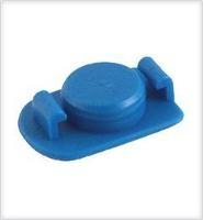 700 End Cap  10cc  Blue  Qty 50 910 ECB