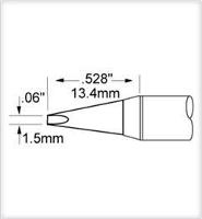 Chisel Tip  1 5mm  0 06   Original SCV CH15AR