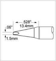 Chisel Tip  1 5mm  0 06   Original SFV CH15AR