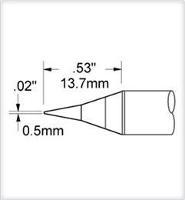 Conical Tip  0 5mm  0 02    Original SFV CN05AR