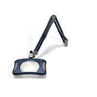 Rectangular LED Magnifier  43  Arm 82400 4 Spectre Blue