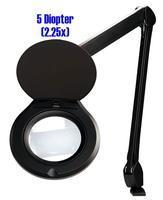 Accu Lite  5  Round LED Magnifier ALRO5 45 5D B