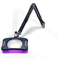 7 x 5 25  Rectangle UV LED Magnifier 82400 4 12UV SB