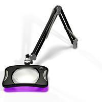 7 x 5 25  Rectangle UV LED Magnifier 82600 4 12UV B