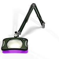 7 x 5 25  Rectangle UV LED Magnifier 82600 4 12UV RG