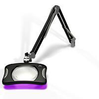 7 x 5 25  Rectangle UV LED Magnifier 82600 4 UV B