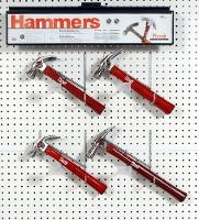 Display for Curve and Rip Claw Hammers PF3