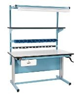 72  x 30  Height Adj  ESD Work Bench BIB18