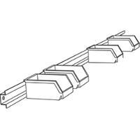 Parts Bin Rail  72 W 8306