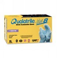 ESD Blue Nitrile Glove 9  P Free 8mil LG 8BQF09 L