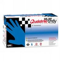 Qualatrile Nitrile P F 9  Gloves   Large BQY09 L