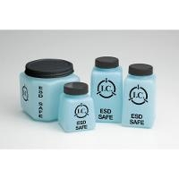 ESD Square Storage Bottle   4 oz SQB 4 ESD