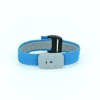 Thermoplastic Blue Wrist Strap w 5  Cord 4650