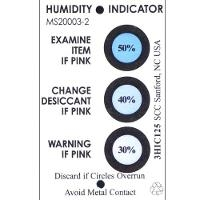 Humidity Indicator Card  3 Spot 125 Can 3HIC125