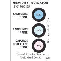 Humidity Indicator Card  3 Spot  125 Can 51015HIC125