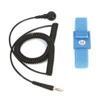 Adjustable Fabric Blue Wrist Band  6 BLUEWS61M