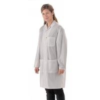 ESD Coat  White   Small LOC 13 S