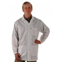 ESD Jacket  White   Large LEQ 13 L