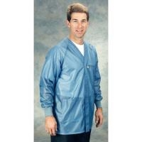 ESD Jacket w Cuffs  Blue   2XL HOJ 23C 2XL