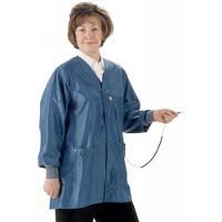 ESD Jacket w Cuffs  Royal Blue   XS HIJ 43C XS