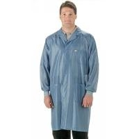 ESD Coat w Cuffs Key Blue XL SOC 23C XL KEY