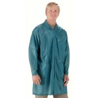 ESD Coat  Teal   5XL LOC 83 5XL