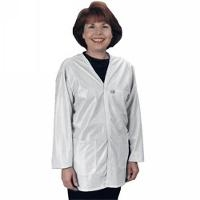 ESD Jacket  White   XL VOJ 13 XL