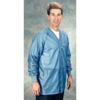 ESD Jacket w Cuffs  Blue   3XL HOJ 23C 3XL