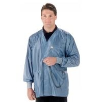 ESD Jacket w Cuffs  Blue   4XL X2 HOJ 23C 4XL