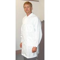 ESD Coat  White   Small 371ACQ S