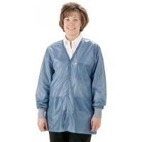 ESD Jacket w Cuffs  Blue   2XL VOJ 23C 2XL