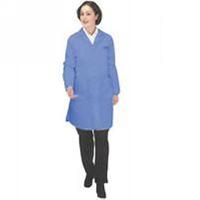 ESD Coat  Royal Blue   Medium 371ACS M