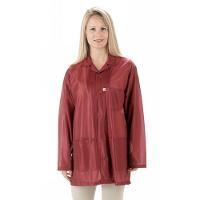 ESD Jacket w Cuffs  Burgundy   Large LOJ 33C L