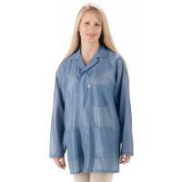 ESD Jacket w Cuffs  Blue   8XL LOJ 23C 8XL