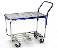 Chrome Table Cart 20 435