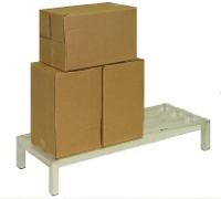 Aluminum Dunnage Rack   24  x 36  x 8 AL2436